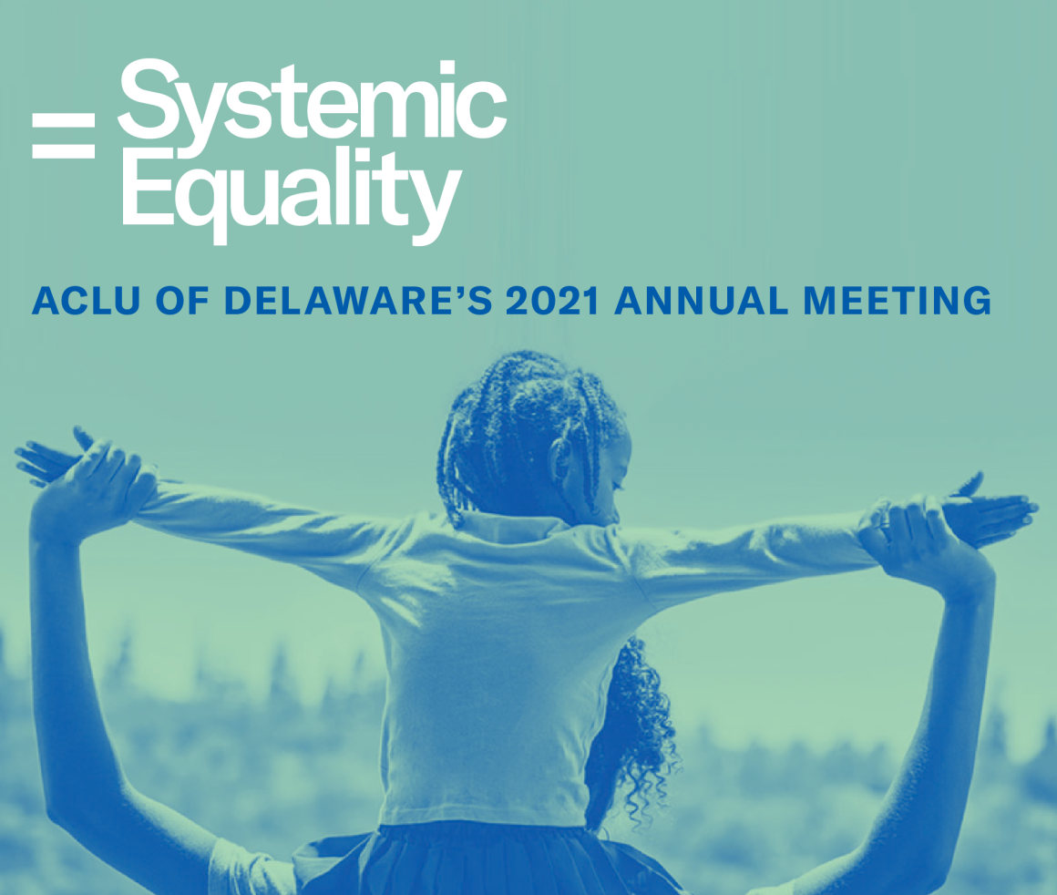 = Systemic Equality: ACLU of Delaware's 2021 Annual Meeting
