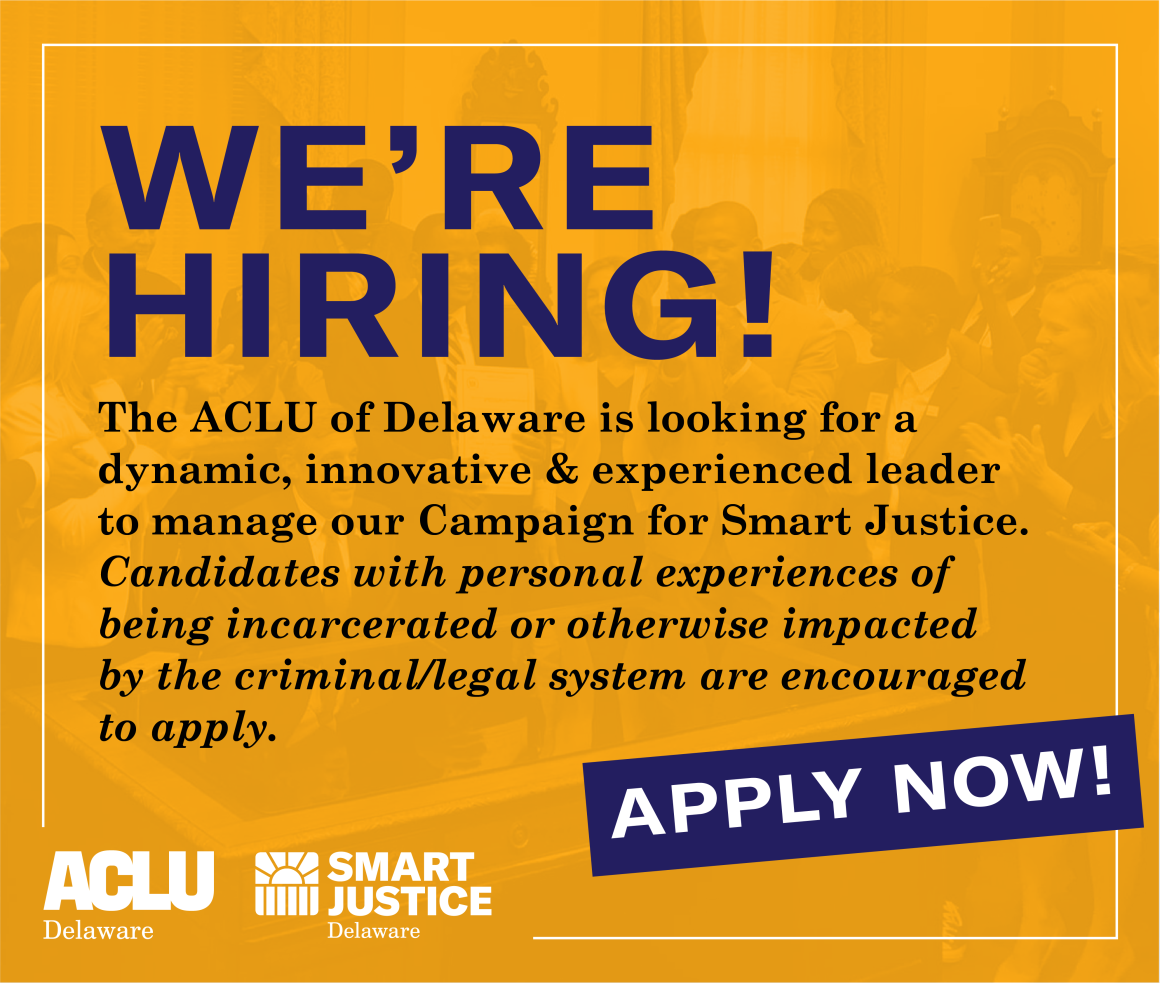 We're Hiring a Smart Justice Campaign Manager! Apply Today!