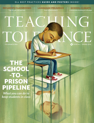 Teaching Tolerance Magazine Cover