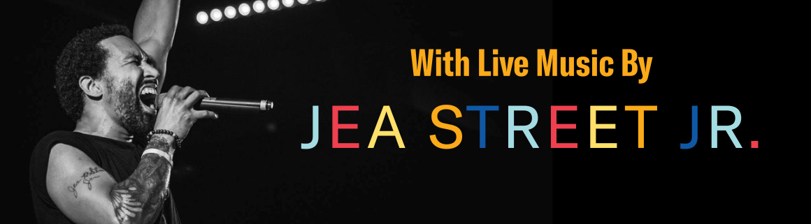 with live music by Jea Street Jr
