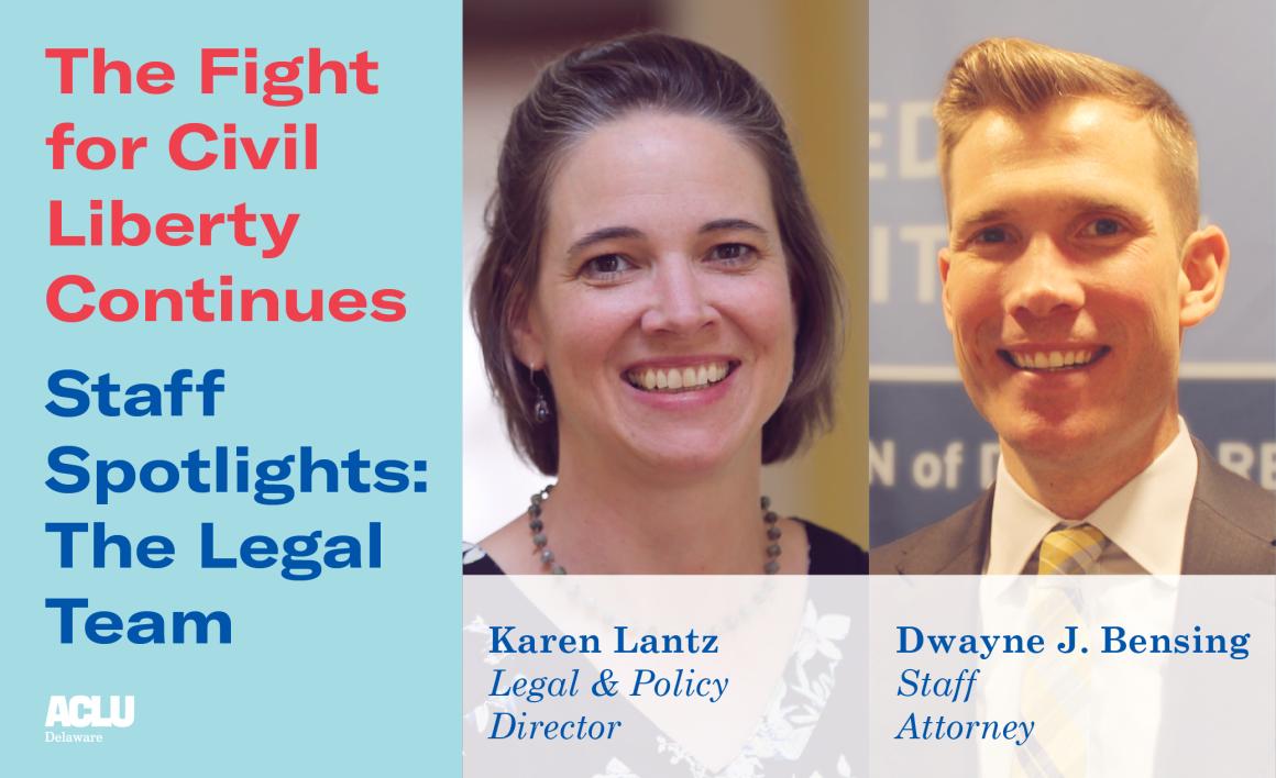 Staff Spotlight, Legal Team