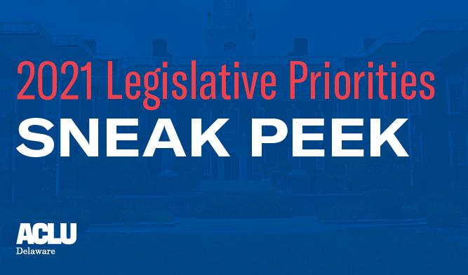 2021 Legislative Priorities sneak peek