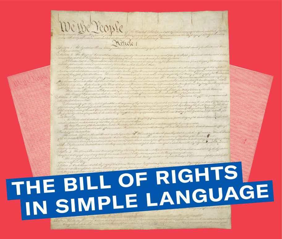 The Bill of Rights in Simple Language