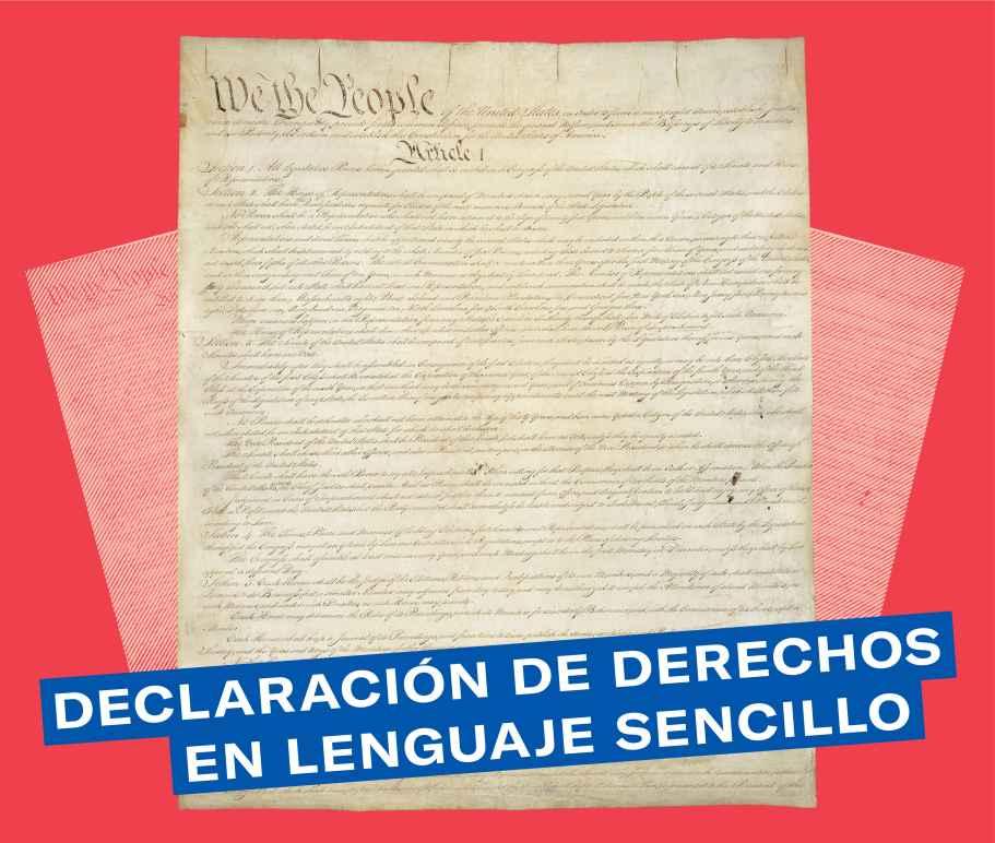 En Lenguaje Sencillo Declaracion de Derechos