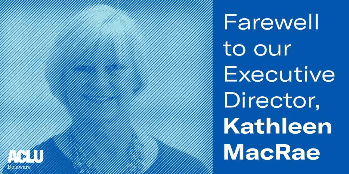 Farewell to our Executive Director, Kathleen MacRae