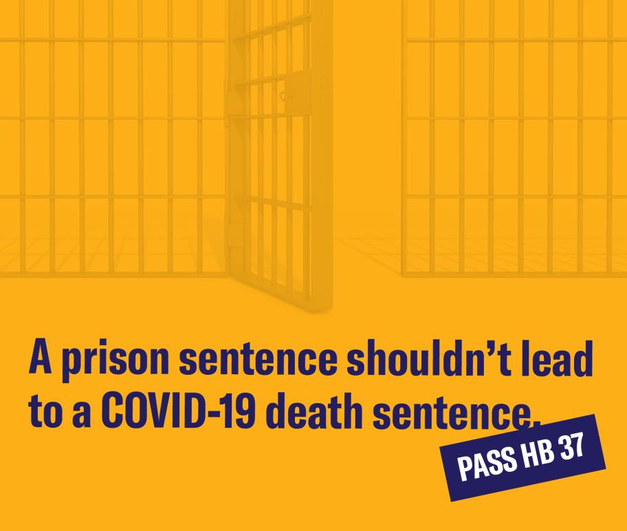 A prison sentence shouldn't lead to a COVID-19 death sentence.