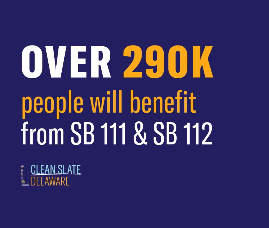 Over 290,000 people will benefit from SB 111 & SB 112.