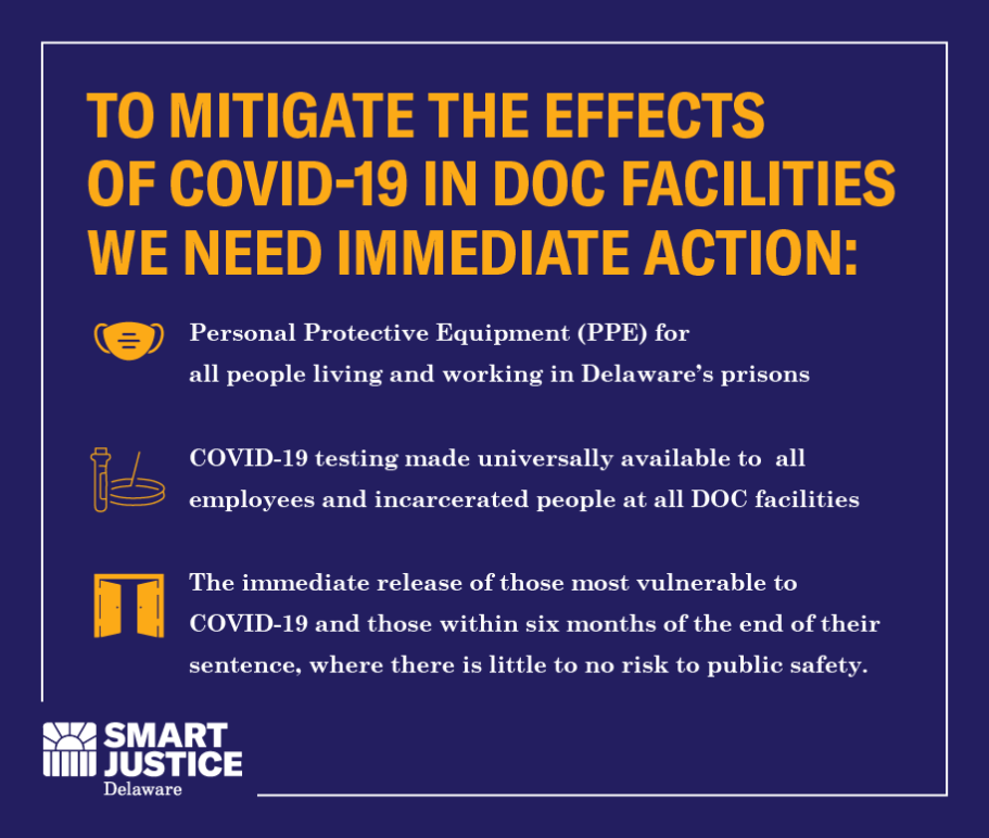 To mitigate the effects of COVID in DOC facilities, we need action now.