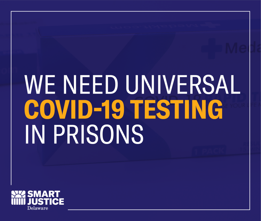 We need universal COVID-19 testing in prisons.