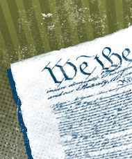 Picture of the constitution.