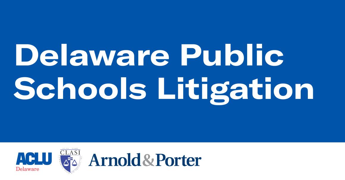 Delaware public schools litigation