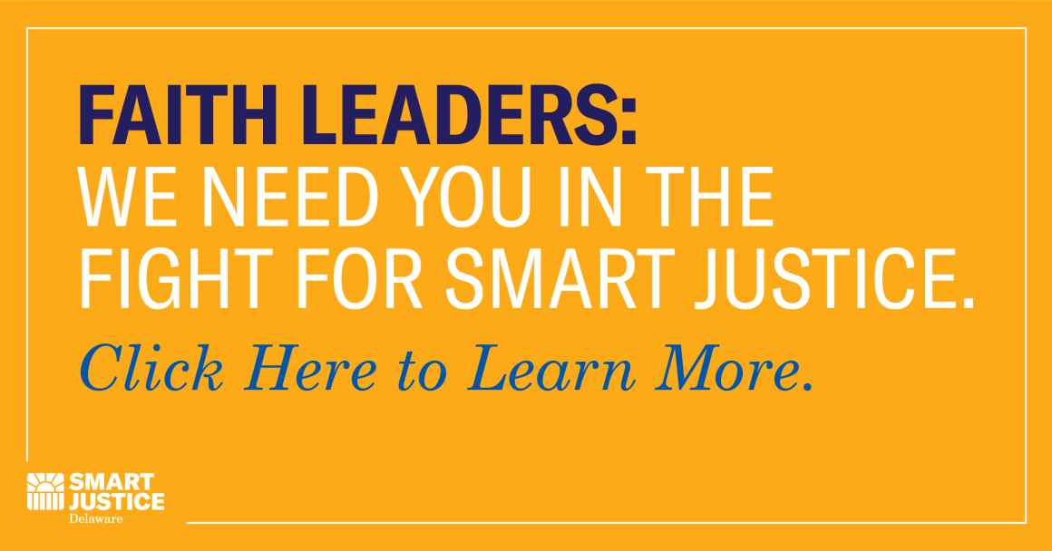 Faith Leaders Needed for Smart Justice Coalition. Click Here for More Info