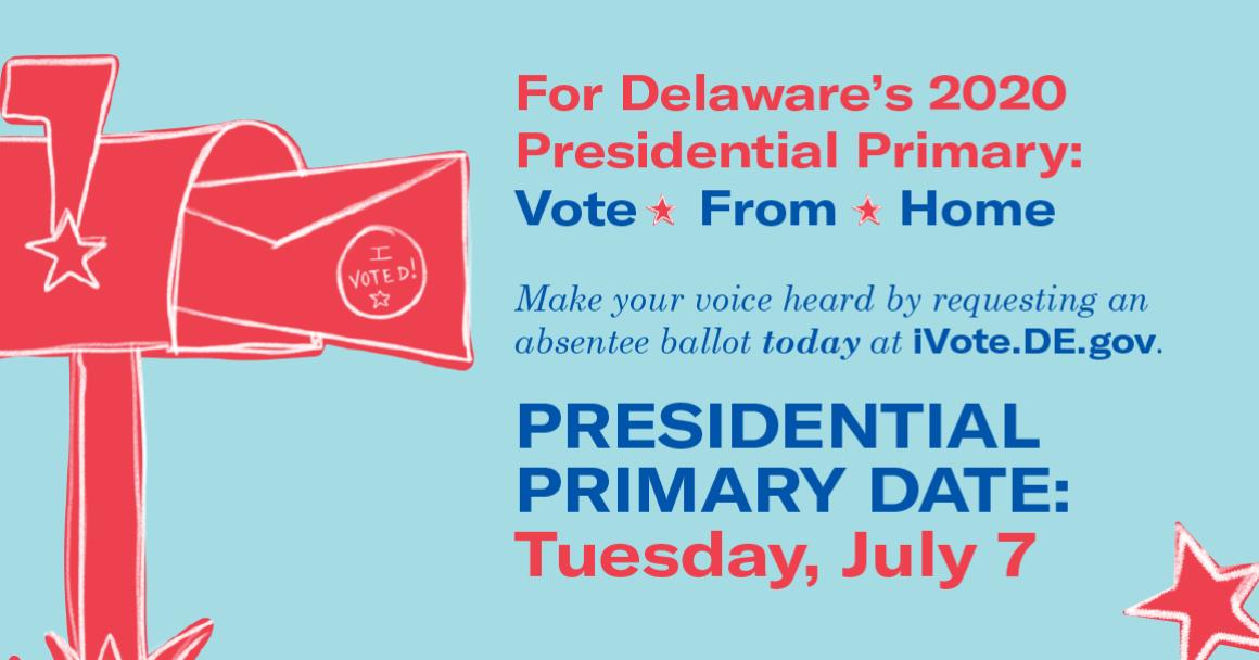 Request an absentee ballot today