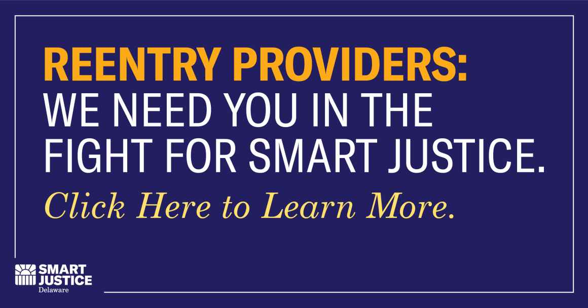 Reentry Providers needed for the Coalition for Smart Justice. Click here for more info.